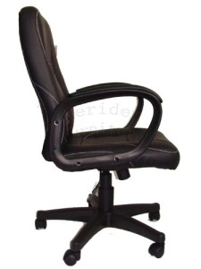 New Design swivel PU Leather Black Color Office Chair 19HH
