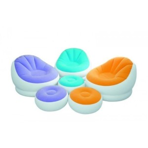 Intex Café Chaise Assortment Chair - Multicoloured
