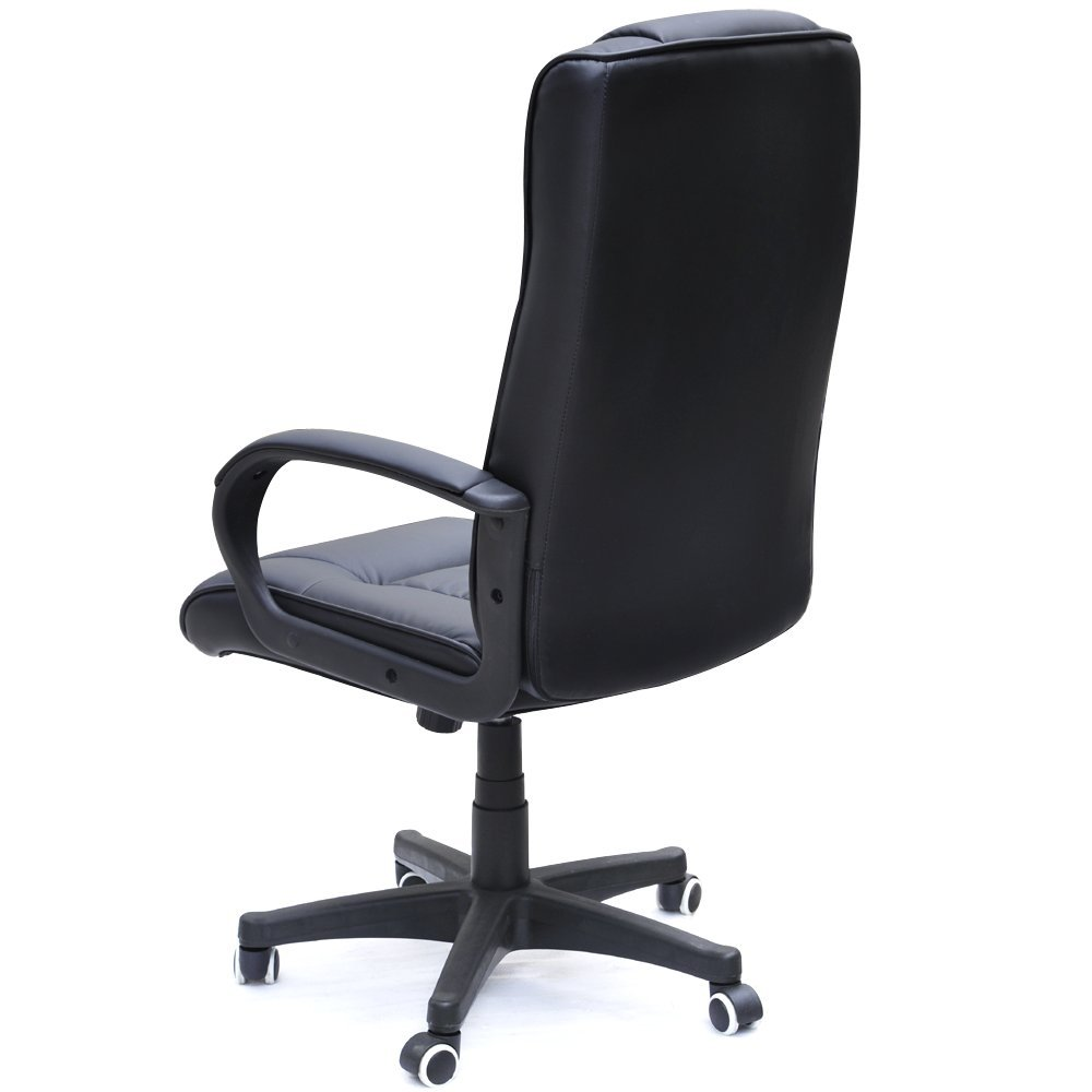 PADDED COW SPLIT LEATHER HIGH BACK OFFICE CHAIR Which Gaming Chair The UK