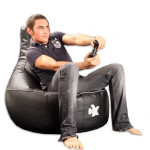 i-eX® Gaming Chair Leather Man Size Bean Bag