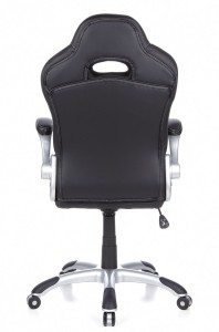 HJH Office/Buerostuhl24 621710 Swivel Office Chair Racer Sport Black / Grey
