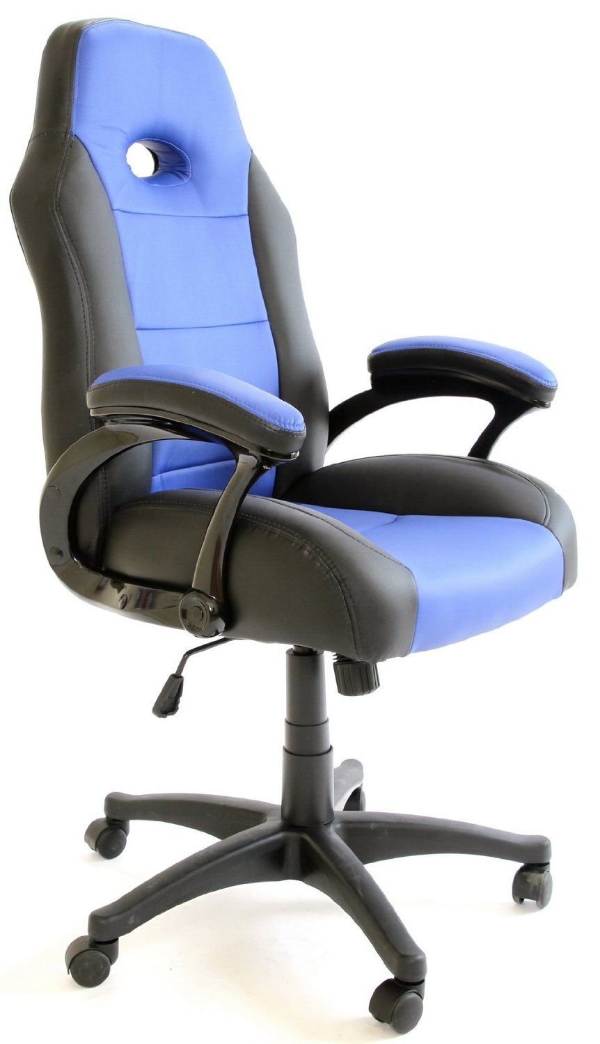 Charles Jacobs Gaming Chair Black Amp Blue