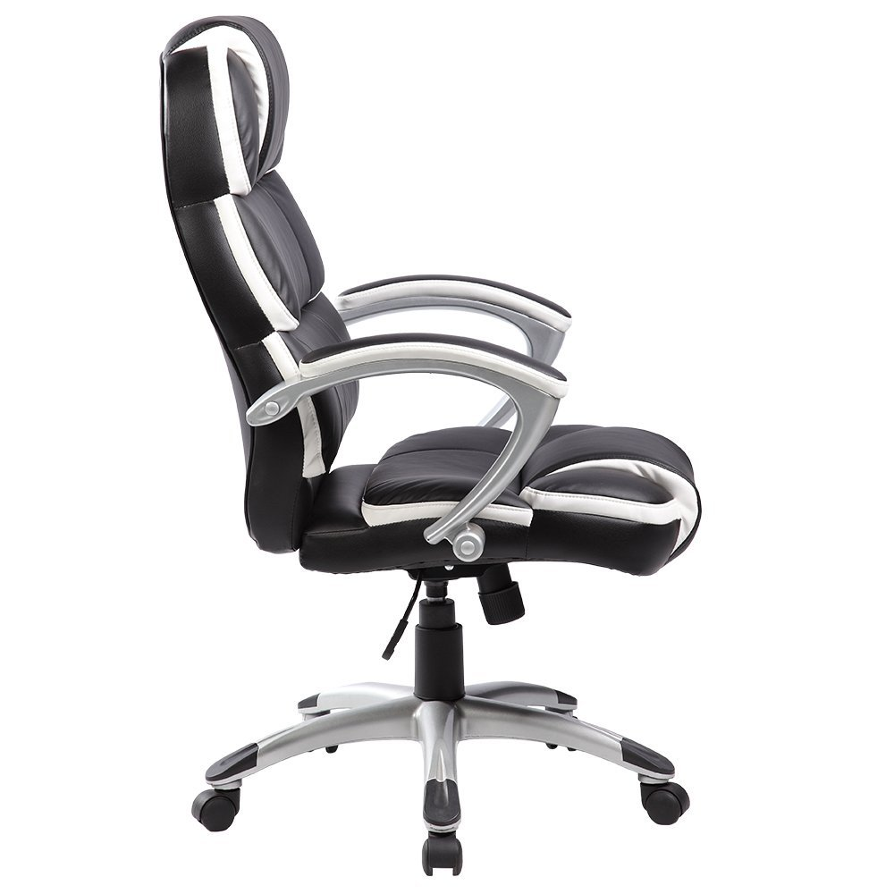 Btm luxury designer high quality business office computer for Luxury leather office chairs