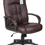 Tinxs Swivel Leather Executive Office Chair