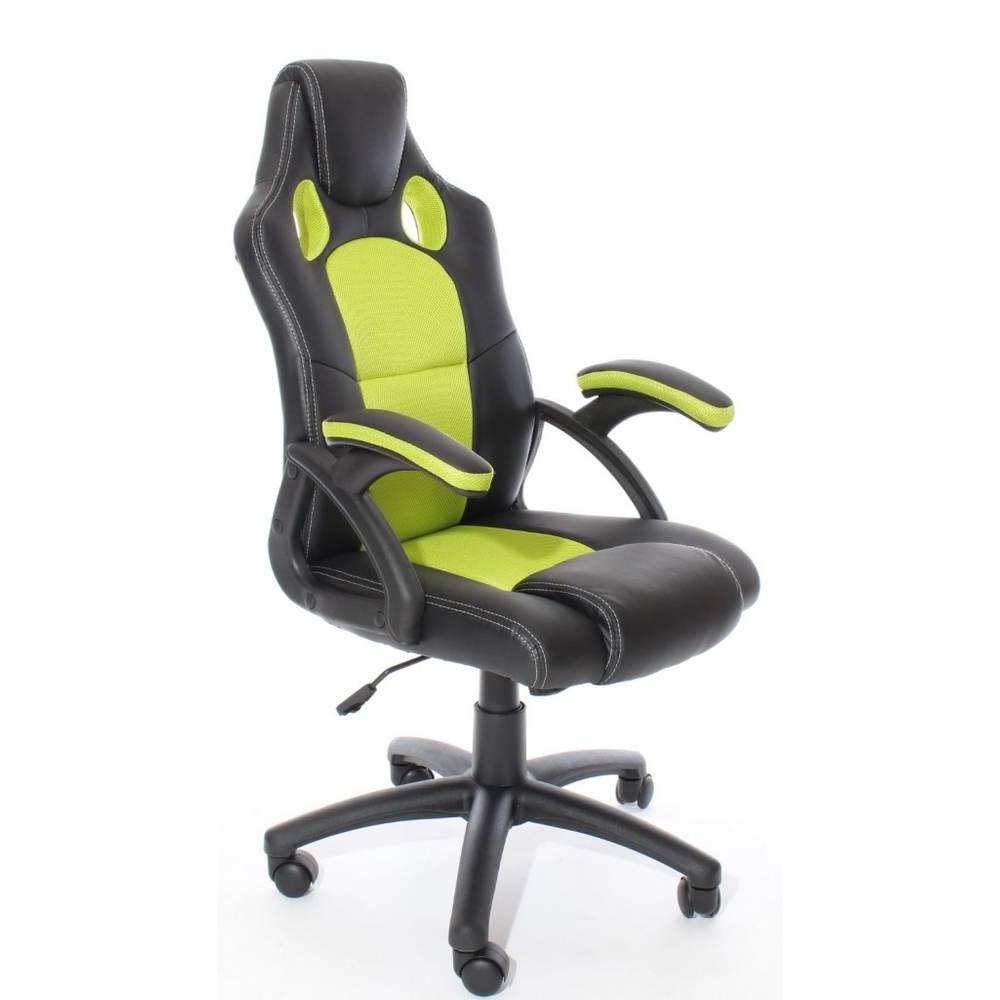 Charles Jacobs 2016 Racing Style Swivel Chair